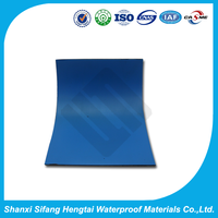 Self-adhesive composite modified bitumen waterproofing membrane