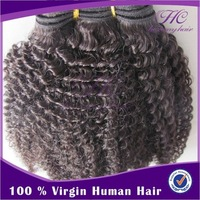New Cambodian Virgin Afro Kinky Weaving Curly Hair Extension Hairpieces