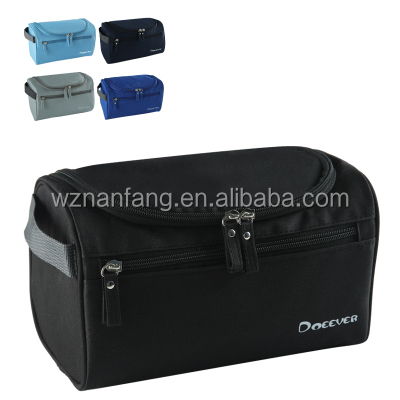 high quality mens travel cosmetic bag folding toiletry bag make up bag