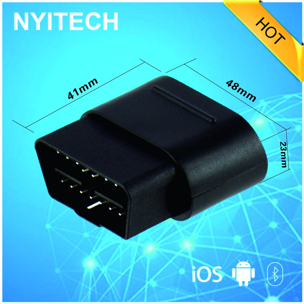 Bluetooth 4.0 obd2 car engine diagnostic data storage device