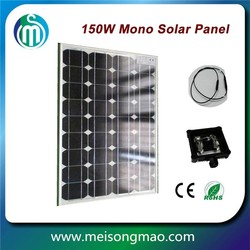 China factory 50W 12V mono solar panel with TUV certificate
