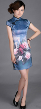 wholesale chinese classical clothing silk qi-pao/chinese culture dress classical