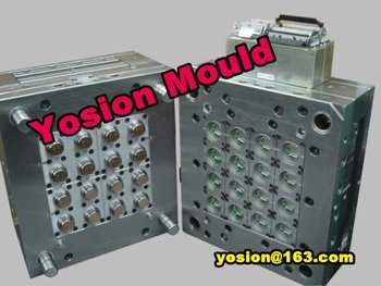 china professional hot runner plastic injection oil cap mould supplyer