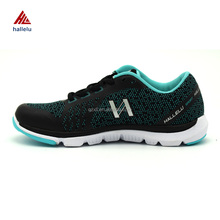 Latest OEM Service Non-stitching Flyknit Racer Running Sports Gym Shoes Breathable Men's Athletic Sneakers Outdoor Zapatillas