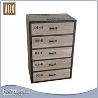 New Style Antique design chest of drawers Top Quality wooden furniture living room