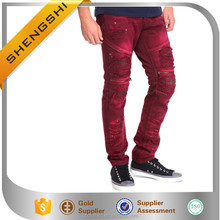 2017 Unique design new fashion slim fit vivid jeans boys jeans