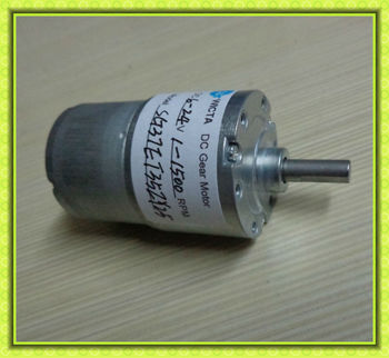 12 Volt Gear Reduction Motor For Automation Equipments