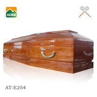 AT-E254 wholesale best price cardboard coffins and caskets
