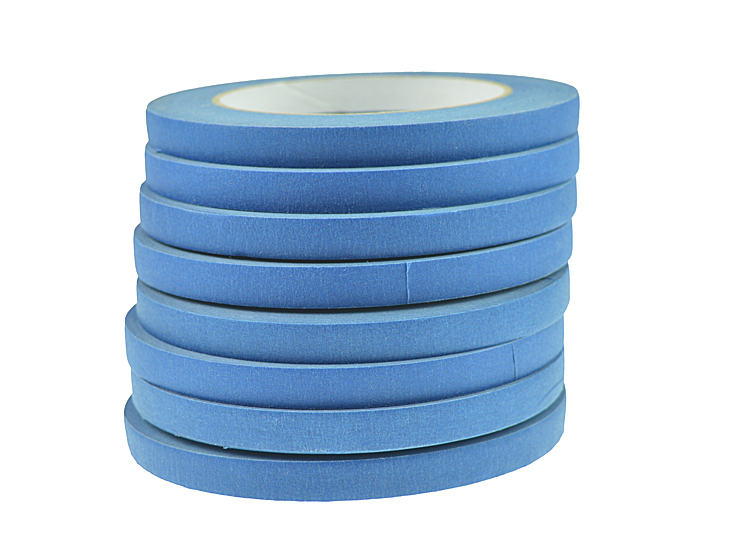 free <strong>samples</strong> 24mm*55m on line UV resistance crepe masking tape