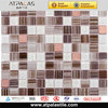 kitchen tile steel mosaic mix glass mosaic 1x1 tile size
