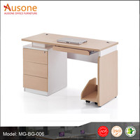 office furniture simple table movable cup stand office desk accessories