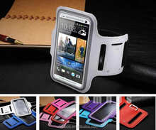 Etui Brassard Coque Sports Gym Running Armband Case Mobile Phone Bags Bags Pouches Tasche for HTC one M7