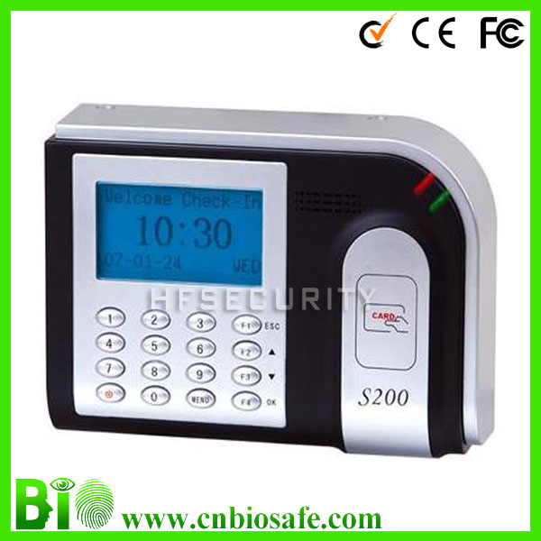 Gowns School Digital Wall Clock USB RFID Attendance System(HF-S200)