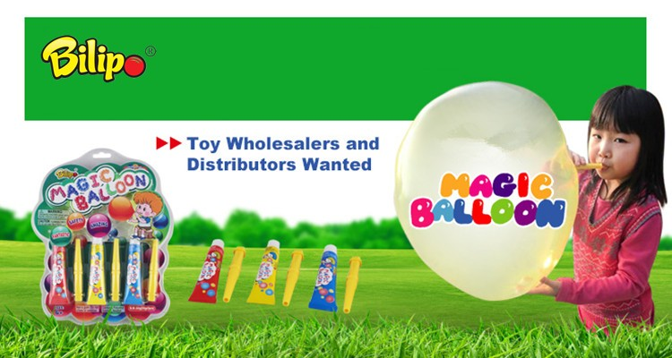 2018 new toy products magic balloon bubble for kids