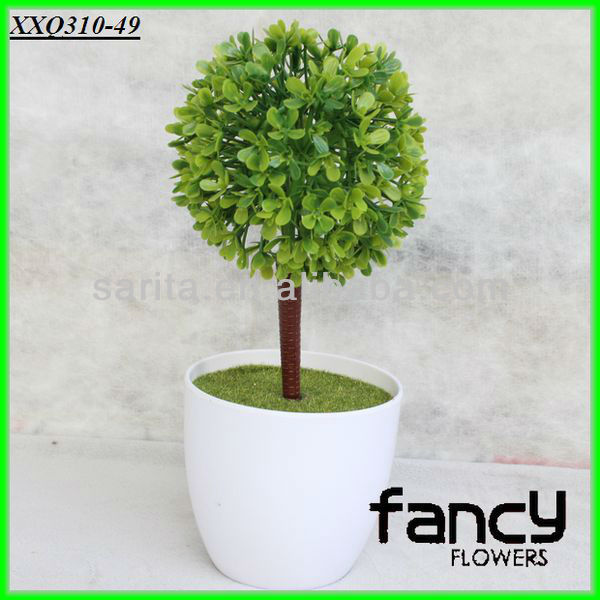 home& indoor decoration,fashion artificial green bonsai table