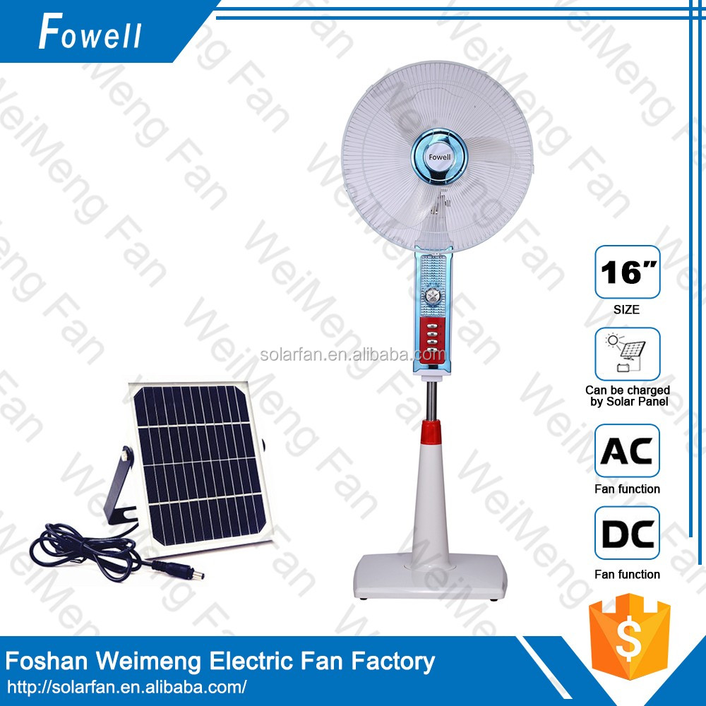 2016 New Invention Electrical 16 Inch Stand Indoor Rechargeable Fan