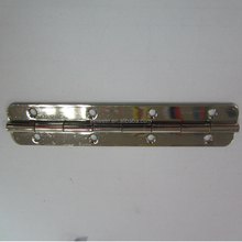 180 Degree Nickle Plated Slotted Piano Hinge For Box Boat