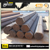 Yuehuajun Group Q195/Q235 Black square steel pipe / Tubes with export packing