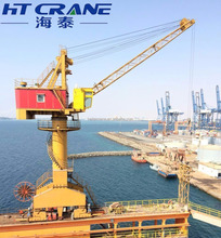 Hot sale floating ship deck portal jib cranes