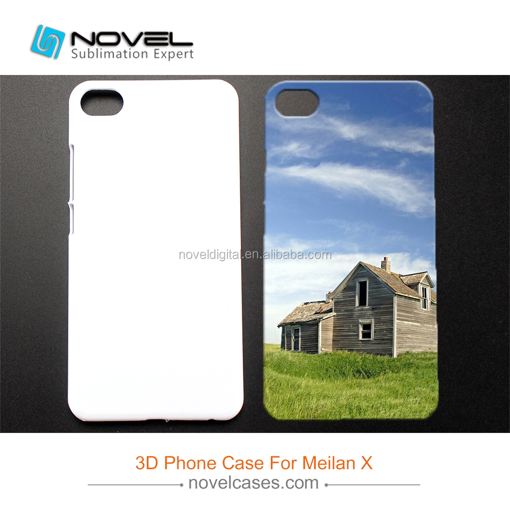 Diy Phone Case Sublimation 3D Blank Phone Cover for Meilan X