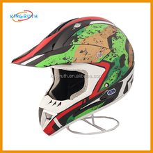 9 Colors DOT Modular Dual Visor Flip Up Motorcycle Helmet Motocross custom half face mask