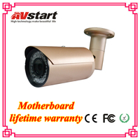 AVstart newly released new housing color 960p/1.3mp Analog high resolution, waterproof, varifocal lens cctv bullet camera