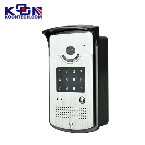 Ip68 Waterproof Rugged Phone KNZD-42VR Entrance Guard Door Control Video Door Phone With Keypad