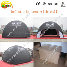 Inflatable stage tent inflatable spider dome inflatable tent for car shelter show