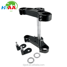 Chinese cnc black aluminum scooter triple trees with high quality
