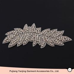 Best Prices Latest trendy style bridal crystal rhinestones applique with workable price