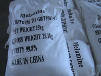 Industry grade white melamine powder 99.8% min sell hot in China