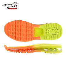 Mustang hot selling high quality rubber shoe soles durable air outsoles