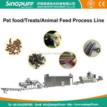 Twin Screw High Capacity Fish Feed Making Machine/Carrot Juice Chicken Strip Pet Dog Food