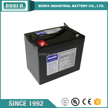 12V 75ah GB12-75 rechargeable sealed lead acid battery for UPS
