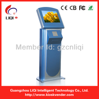 17 inch bill acceptor touch screen terminal payment kiosk for self payment