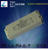 Three years warranty 8W 10W 12W 18W 300ma constant current led driver with DALI dimming
