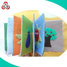 Custom Best Made High quality safety soft baby memory cloth book