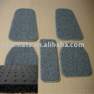 Good Quality Spike Backing 5 Piece Car Mats