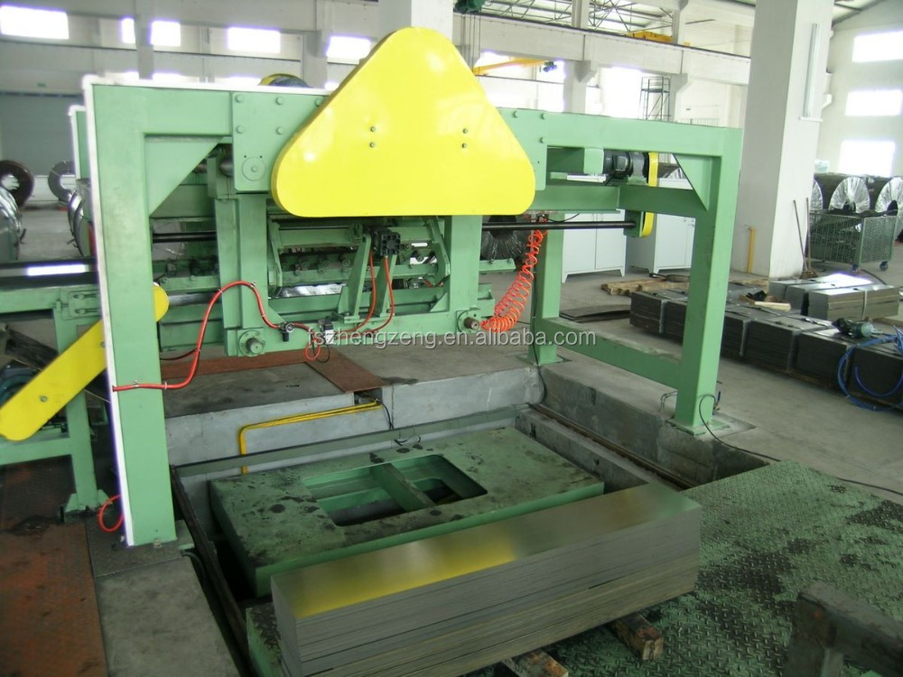 * 850 full automatic hydraulic cut to length line (800*2.0)