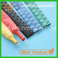 Non-slip Heat Shrinkable Sleeve/ Skidproof PE Made Heat Shrink Tube