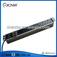 19 inch network cabinet power distribution unit