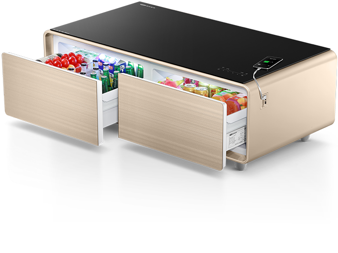 CNET First Look Source · Coffee Table With Fridge Buy Music Table Cooler Table  Mini