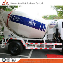 Truck With Capacity 6cbm Mixer Truck Model 4X2 Transit Cement Mixer Truck