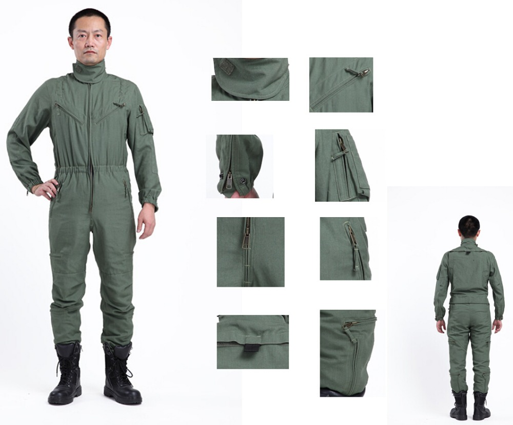plus size clothing custom made cheap mens work pilot coverall/air force clothing