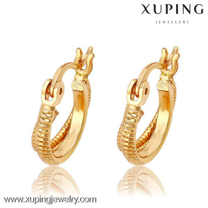 91267-Xuping Attractive fashion ear cuff cheap earring gold plated