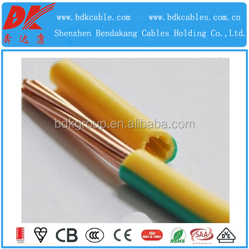 Low voltage PVC electric wire plastic cover