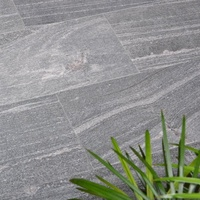 High Quality Nero Santiago Grey Granite Interior and Outdoor Tiles