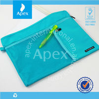 blue durable polyester conference bags