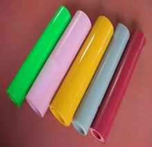 0.2mm-2mm Thickness Thermoformed Colorful Flocked PS Plastic Sheet