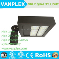 High quality 5years warranty led shoe box light/120w shoebox LED flood light/shoebox LED area lighting